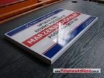 Szyld informacyjno-reklamowy, efekt 3D - zdjęcie
